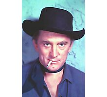 Kirk Douglas in Man Without a Star Photographic Print
