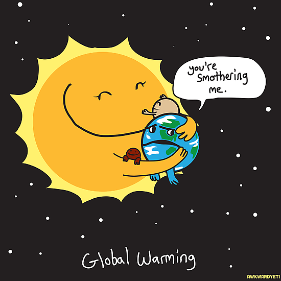 Global Warming by theawkwardyeti