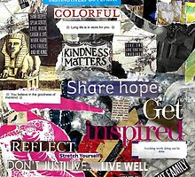 Inspired Collage 4 by jayheart