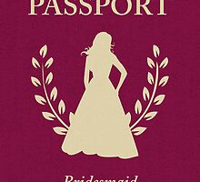 Bridesmaid Passport Invitation by maydaze