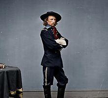 General George Armstrong Custer by Mads Madsen