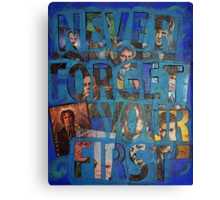 You Never Forget Your First Doctor Canvas Print