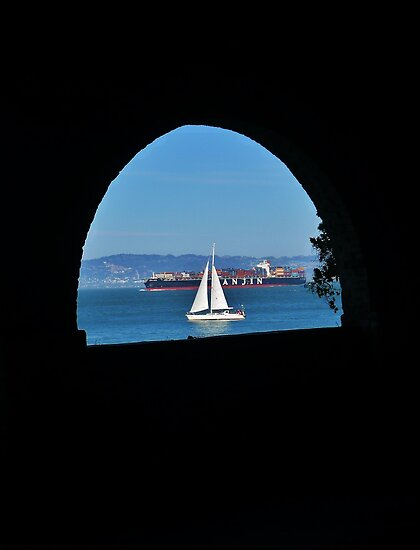 The View from Alcatraz by Barbara Morrison