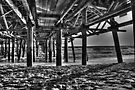 Under the pier by Flossy13