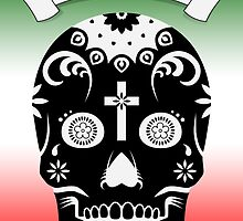 cinco de mayo sugar skull by maydaze