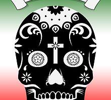 cinco de mayo sugar skull by maydaze