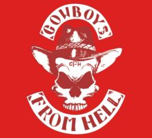 Cowboys From Hell (Red) by GraphicLife