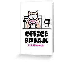 My Office Break - Toilet App Greeting Card