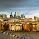 St Paul's and Thames panorama by Gary Eason