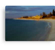 Sunset At Cottesloe Beach Canvas Print