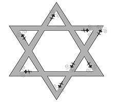 star of david by maydaze