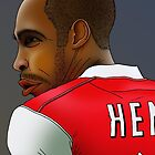 Thierry Henry by AdamSteve1984