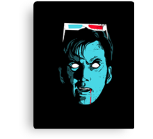Bite of the 10th Doctor Canvas Print