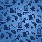 Warehouse 13 Case (Blue) by thegadzooks