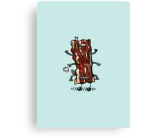 Bacon Bot Canvas Print