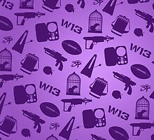Warehouse 13 Case (Purple) by thegadzooks