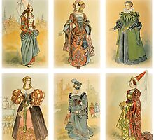 Vintage French fashion (Middle ages) by VintageLevel