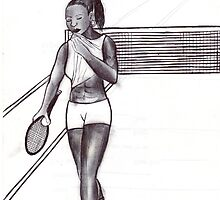 tennis practice by odinel  pierre junior