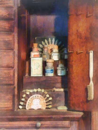 Dentist - Supplies For Making Dentures by Susan Savad