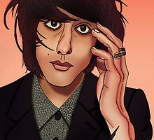 Faris Badwan (The Horrors) by AdamSteve1984
