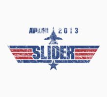 Custom Top Gun Style - Avalon Slider by CallsignShirts