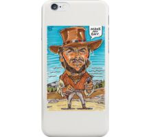 Mr. Man of Few Words iPhone Case/Skin