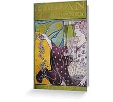 Gillian The Dreamer Greeting Card