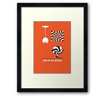 Born In The Sixties Framed Print