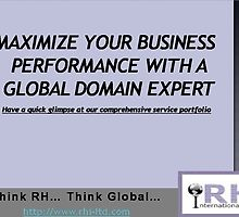 Global Domain Expert Of Various Services by rhiltd