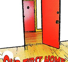 our first home comic door by maydaze
