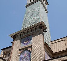 Wind tower, Palace, Tehran, Iran by Jane McDougall