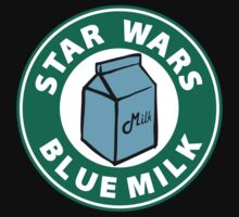 STAR WARS BLUE MILK by BungleThreads