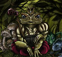 The Frog Prince by AxelAdams