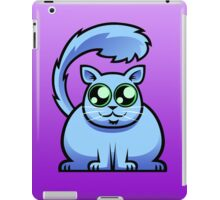 Blue Cat iPad Case/Skin
