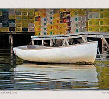 Skiff, South Bristol, Maine  by Dave  Higgins
