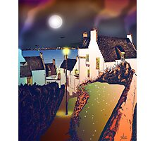 Hie Gait, the Town of Dysart, Scotland [colour version] Photographic Print