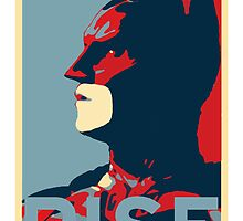 RISE (Batman) by KillerBrick Tees