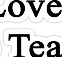 This Man Loves To Teach English  Sticker