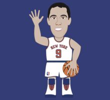 NBAToon of Pablo Prigioni, player of New York Knicks by D4RK0