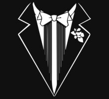 The Tuxedo t shirt by Dei Hendrick