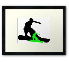 snowboard : shadowstance Framed Print