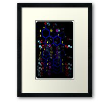 """THE FORMULA"" Framed Print"