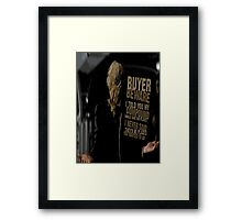 Scarecrow. Framed Print