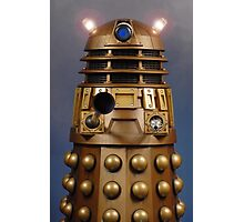 Doctor Who Gold Dalek Photographic Print