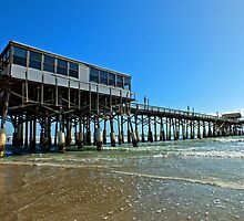 Cocoa Beach Pier, Florida by Ludwig Wagner