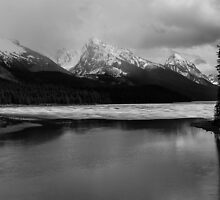Maligne Lake, Jasper National Park, Canada, 2013 by Graham Schofield