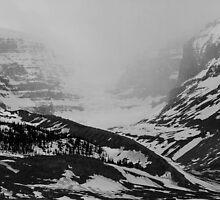 Snow Dome Glacier & Mt Kitchener, Jasper National Park, Canada, 2013 by Graham Schofield