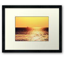 Easy glider  Framed Print
