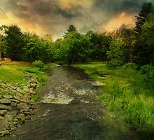 Flowing Stream by PineSinger