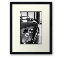 Eye of the Bull Framed Print